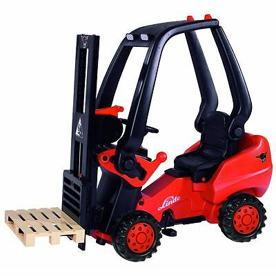 Simba Smoby Children Kids Pedal Powered Ride-On Fork Lift Truck Play Toy New