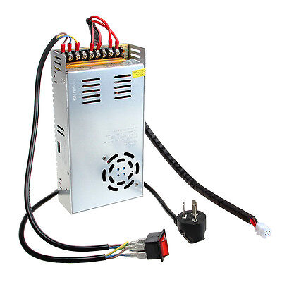 Geeetech Reprap S-350-12 12V 29A DC single switching power supply + cables,Prusa