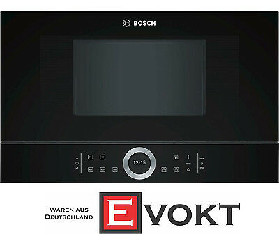 Bosch Serie 8 BFL634GB1 Built-In Microwave Oven Black 900W 21L  Genuine NEW