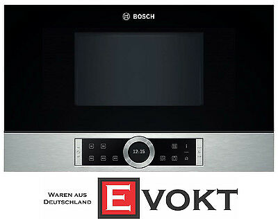 Bosch Serie 8 BFL634GS1 Built-In Microwave Oven Stainless Steel 900W Genuine NEW