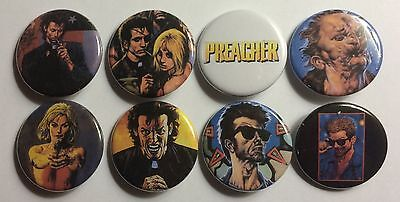 """Preacher Quotes Lot of 8 1 1//4/"""" Pinback Buttons or Kitchen Magnets Jesse Custer"""