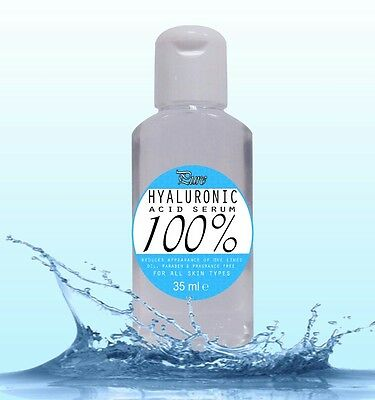 100% Pure HYALURONIC Acid Serum 35ml buy2get3 Introductory Offer