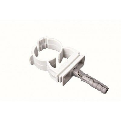 Fix Express Single Pipe Clamp with Screw Tube Clip Cables Holder Bracket
