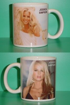 JESSICA SIMPSON - with 2 Photos - Designer Collectible GIFT Mug