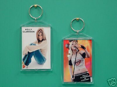 KELLY CLARKSON - with 2 Photos - Designer Collectible GIFT Keychain