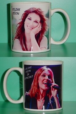 CELINE DION - with 2 Photos - Designer Collectible GIFT Mug 01