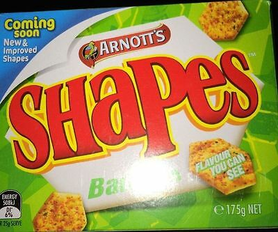 Bbq Shapes Original Arnotts Flavour *express Post*