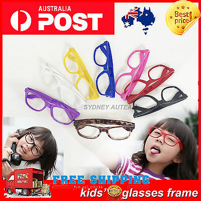 1* Cool Children Kids Boys Girls Party Photographing Big Glasses Frame No Lenses