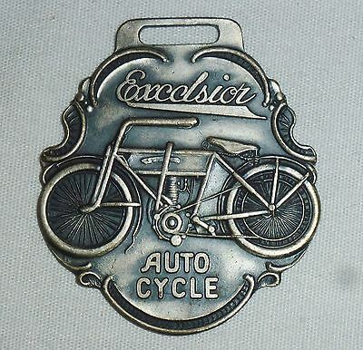 Excelsior Auto Cycle Watch Fob (Motorcycle)