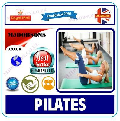 PILATES FOR OVER 50s DVD (MD35)✅