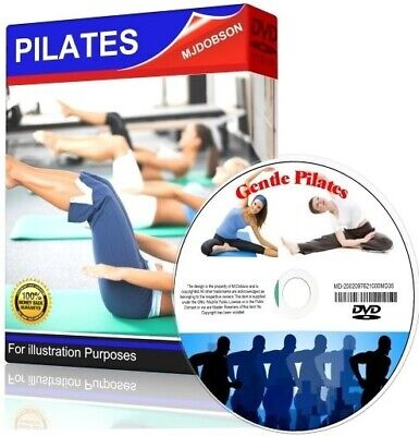 PILATES FOR OVER 50s FITNESS AND LOOSE WEIGHT GET FIT DVD ✅