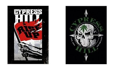 Cypress Hill - Rise Up / Skull - Official Textile Poster Flag
