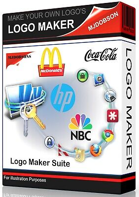 Logo Creator Maker software Design - (Windows Vista ,7,8,10) IMMEDIATE