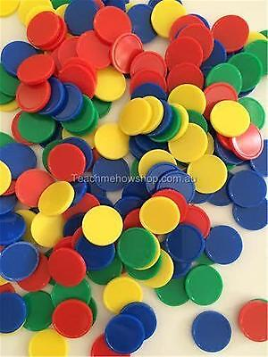 200/100 Math Counters Educational Number Patterning Sorting School Numeracy Kids
