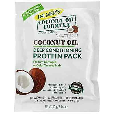 Palmer's Coconut Oil Formula With Vitamin E Deep Conditioning Protein Pack 60g