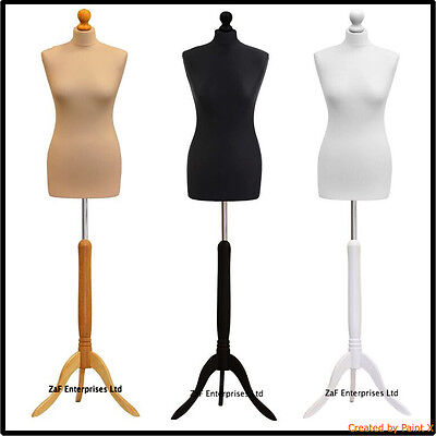 Child Female Male Tailor dummies Dressmaker Mannequin Bust Retail Display Stand