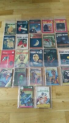 Astounding Science-Fiction  Collection mainly 1950s couple of 40s