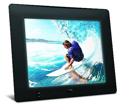 "Nix X08D Hu-Motion Digital Photo Frame - 8"", High Resolution"