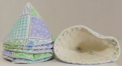 Brand New Handcrafted Tinkle Tents  Set of 6