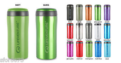 LIFEVENTURE THERMAL 300ml TiV MUG NO-LEAK STAINLESS INSULATED TRAVEL FLASK