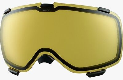 Anon M1 Yellow Replacement Lens New Snowboard Goggle Accessories Snow Ski 2016