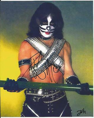 Peter Criss - Kiss signed photo