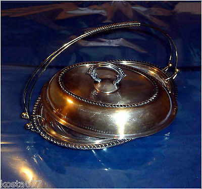 Vintage 60's 70's WM ROGERS, EAGLE, STAR, Hamilton, ON. 2215, .42, Serving Dish