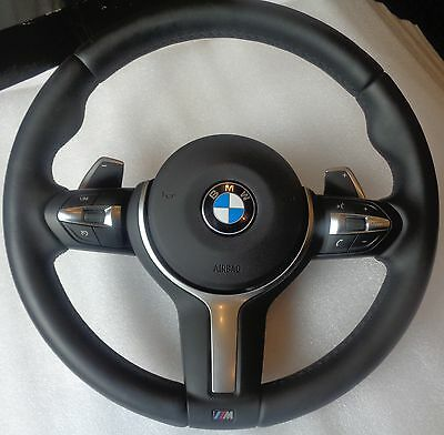 BMW M-Tech Sport Heating F30 Multifunction Steering wheel airbag Shift paddles