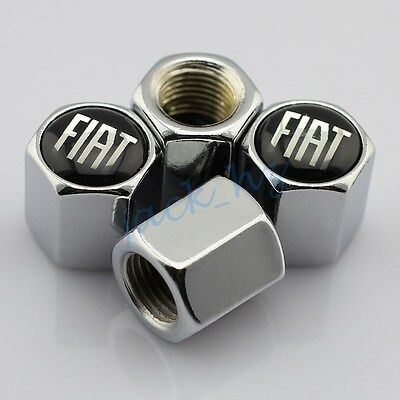 For Fiat Accessories Air Dust Covers Wheels Tire Tyre Valve Stem Caps Garnish