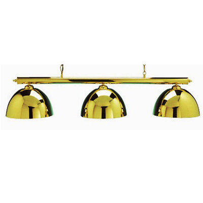 Brass Canopy Lighting Set - Includes Bar and Shades, Ceiling Rose, Chain