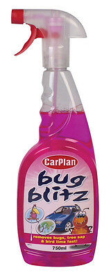 Carplan Bug Blitz Bug Tree Sap Bird Lime Car Paintwork Stain Remover 750ml