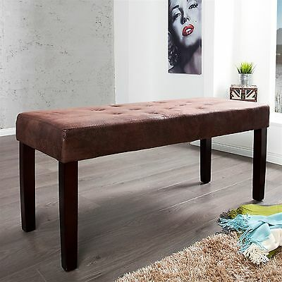 "VINTAGE SEATING BENCH ""WILLIAM"" 