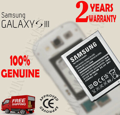 New Official Genuine Original SAMSUNG Battery For GALAXY S3 SIII i9300 2100mAh