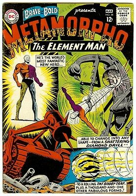 The Brave & The Bold #58 (DC 1965, vf- 8.5) 2nd Metamorpho - 50% off guide value