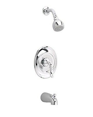 $128 American Standard T508 Classic Wall Mount Tub & Shower Trim Set CHROME, NEW