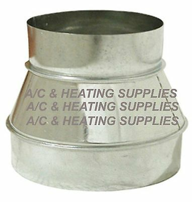 6 to 4 6x4 Single Wall Metal Reducer / Increaser for Duct / Other purpose