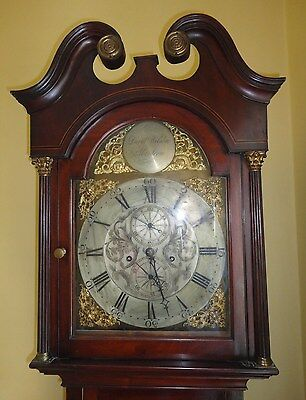 ANTIQUE LONG CASE GRANDFATHER CLOCK 230 Years Old , Made in ABERDEEN ,SCOTLAND