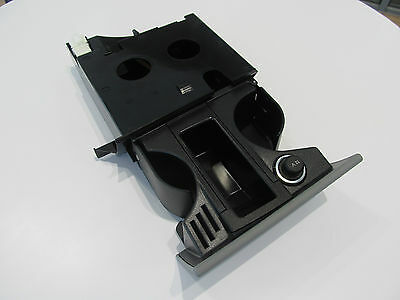 New Genuine Volkswagen T5 Front Ashtray Cup Holder 12V Outlet Coin Holder (Grey)