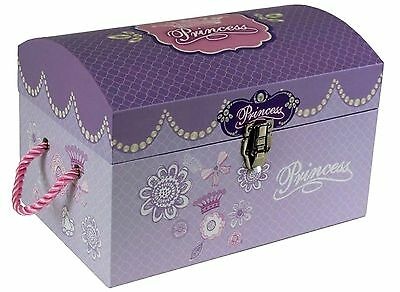 Kids Children's Princess Toy Storage Box Treasure Chest Girls Gift Trunk Medium