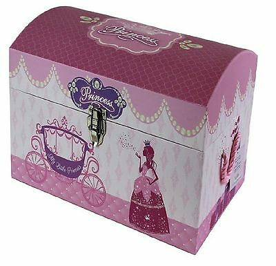 Kids Children's Princess Toy Storage Box Treasure Chest Girls Gift Trunk Small