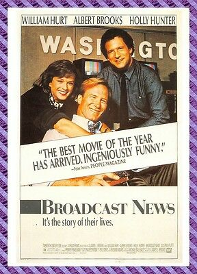 Postcard Poster Film - Broadcast News