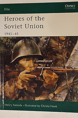 WW2 Russian Heroes Of The Soviet Union 1941-45 Elite 111 Osprey Reference Book