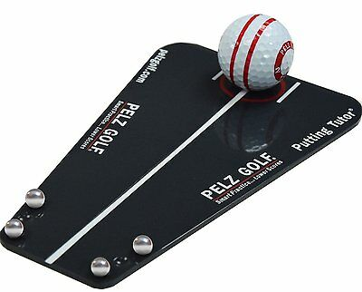 Dave Pelz Putting Tutor, Used by Over 50 PGA Tour Pros, NEW Great Alignment Aid