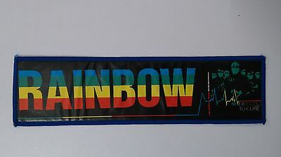 Rainbow difficult to cure superstrip RARE patch music