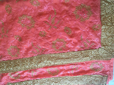 Indian Fancy Sari / Katan / Banarasi Sari / Georgette / Chiffon Silk Saree 5342