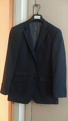 Perry Ellis Portfolio Slim Fit Suit Jacket Blue (Worn Twice Pretty Much New!)
