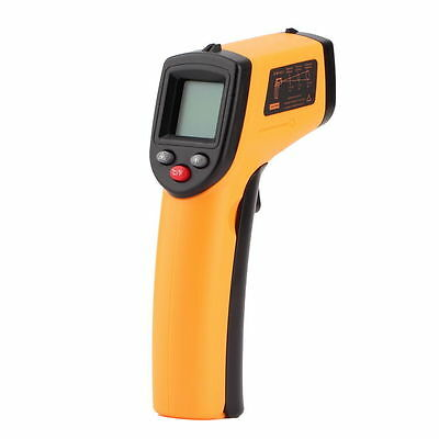 LCD IR Laser Infrared Digital Temperature Non-Contact Thermometer Gun Brand New
