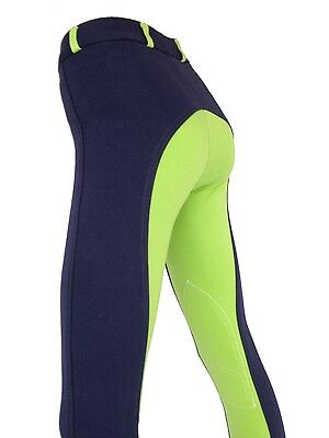 Girls Green Jodhpurs, Kids Lime Jodphurs, Green Riding Pants. Sizes 6,8,10,12,14
