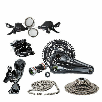 Mountain Bike M610 Groupset 170mm MTB Group Set 10 Speeds for Shimano Deore