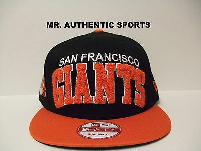 81d9ec8c126 San Francisco Giants Mlb Authentic New Era 9Fifty Snapback Cap Hat  Adjustable